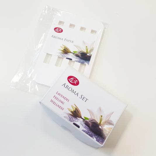 Aroma csomag az S115 porszívóhoz (papírok+illóolajok)